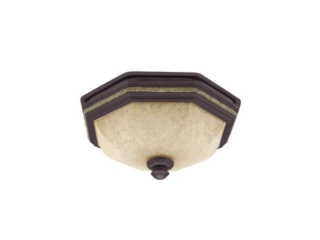 82023 Belle Meade New Bronze w/ Gilded Gold Accents Bathroom Fan with Light