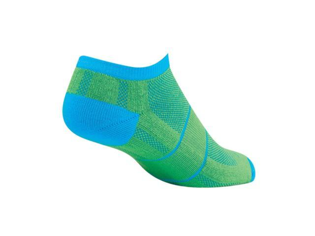Socks - SockGuy - Channel Air No Show Blue Grass S/M Cycling/Running