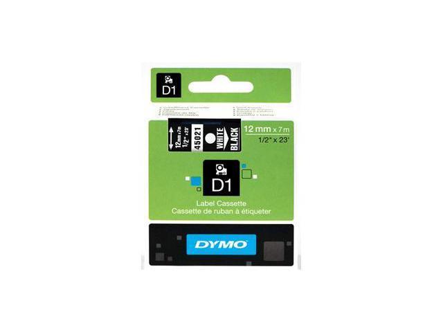 Sanford Lp 45021 White Print- Black Tape- 1-2 X 23