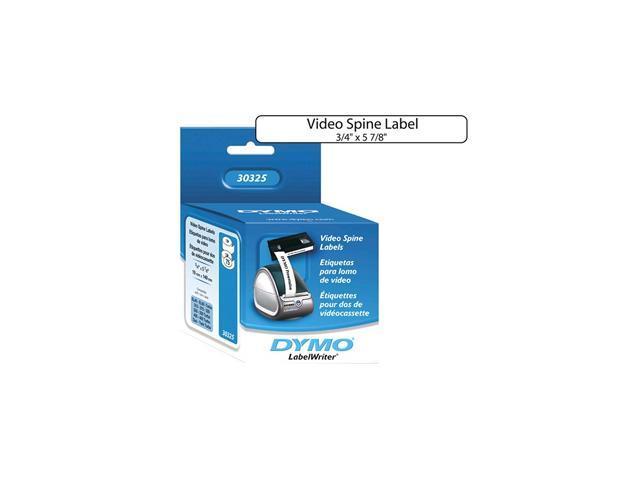 Sanford Lp 30325 Vhs Spine Label- 3-4 X 5-7-8