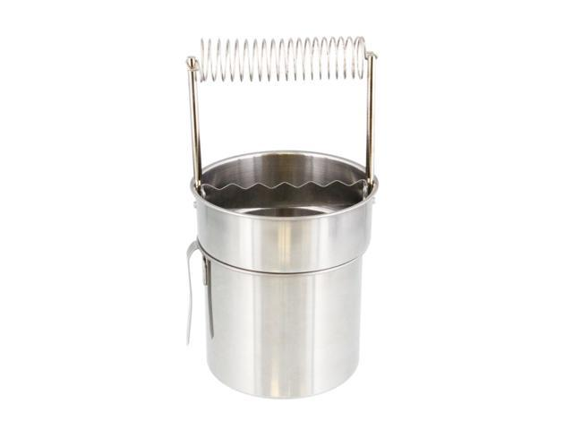 US Art Supply Large Stainless Steel Leak-Proof Premium Brush Washer