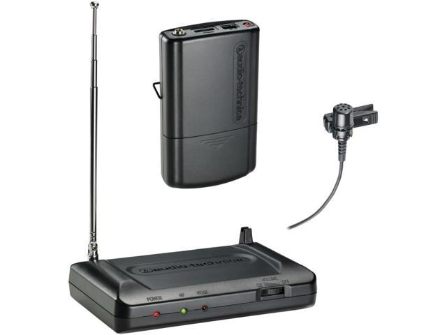 AUDIO TECHNICA ATR-7100L-T2 Lavalier VHF Wireless Microphone System (169.505MHz)