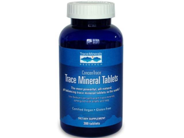 Trace Minerals Research Trace Mineral Tablets 300 tabs