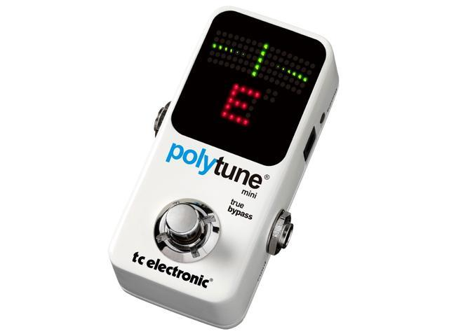 TC Electronic PolyTune Mini Chromatic Guitar Tuner Pedal