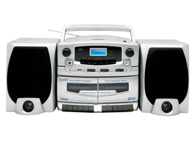 Supersonic SC-2020U Portable MP3 CD Player