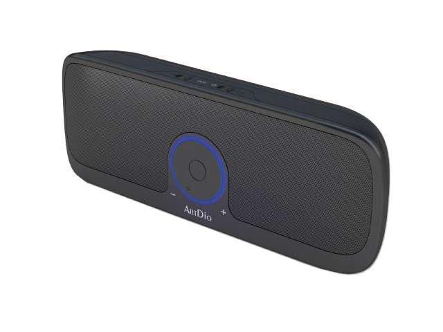 Kinyo MS-730 2.0 Portable Speaker System, this is a compact, lightweight, and portable speaker set.  Operates easily with batteries or USB power.  Audio Connection is compatible with all audio sources