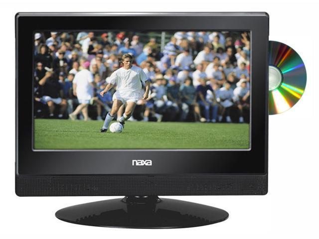 13.3 Inch Naxa NTD-1354 12V AC/DC LED 1080i HDTV ATSC Digital Tuner with DVD Player