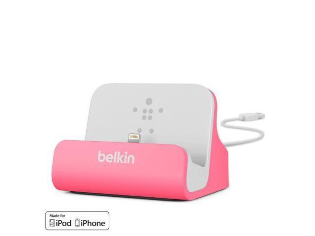 Belkin MIXIT ChargeSync Dock for iPhone 5 - Pink (F8J045btPNK)