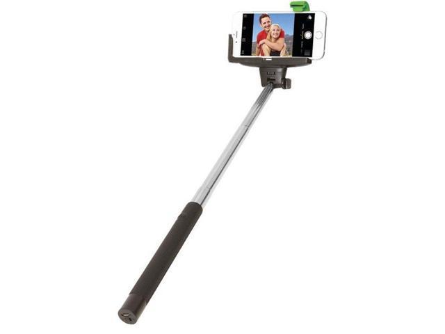 retrak etselfieb selfie stick with bluetooth shutter. Black Bedroom Furniture Sets. Home Design Ideas