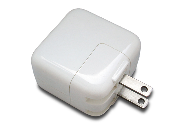 apple charger. 12w white ac home wall charger for apple ipad mini the new 4 4th 3