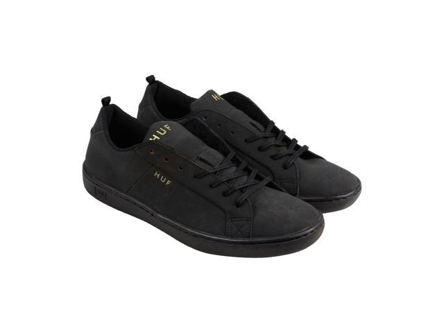 HUF Boyd Black Mono Mens Lace Up Sneakers