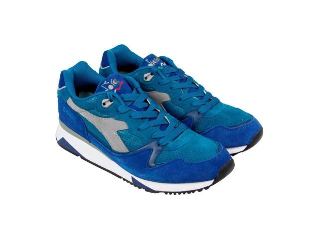 Diadora V7000 Premium Blue Star Blue Summer Mens Athletic Running Shoes