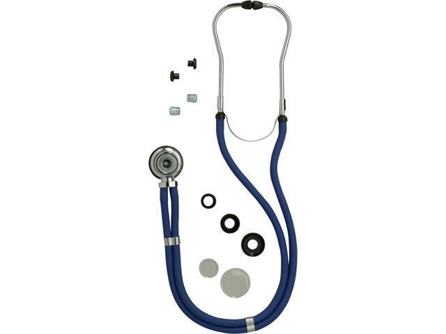 Medline MDS926301 Sprague Rappaport Stethoscopes,Black Case Of 1 EA