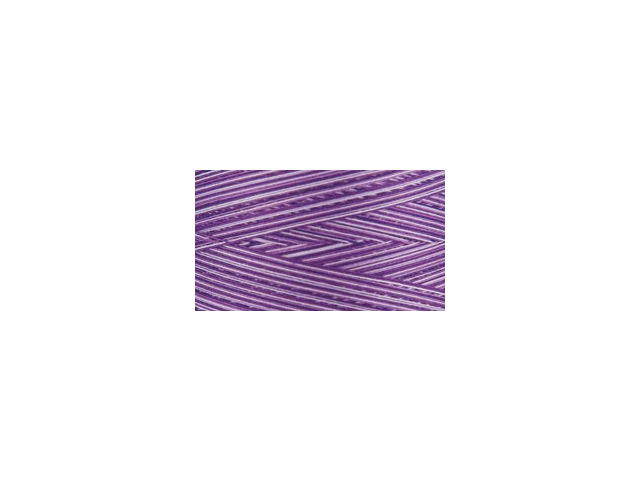 Natural Cotton Thread Variegated 3,281 Yards-Purple Passion