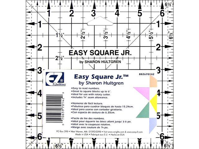 Easy Square Jr.-6-1/2