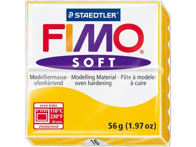 Staedtler EF8020-16US Fimo Soft Polymer Clay 2 Ounces