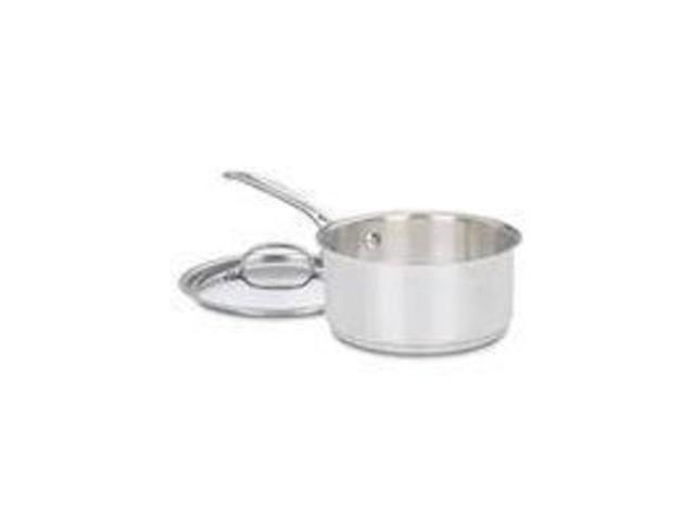 Cuisinart/Waring 719-18 Saucepan 2-Quart With Cover Stainless Non-Stick Covered