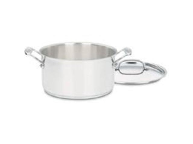 Cuisinart 744-24 6-Quart Stainless Steel Saucepan with Lid