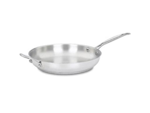 Cuisinart 722-30H 12-Inch Stainless Steel Open Skillet