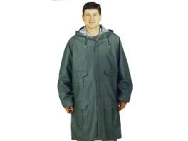 Diamondback 8156-XXXL .35-MM Heavy-Duty PVC/Poly Parka, 3XL