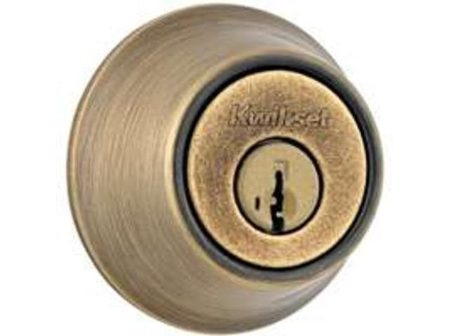 Kwikset 660 5 RCAL RCS Single-Cylinder Deadbolt Single Cylinder 660 Series Each