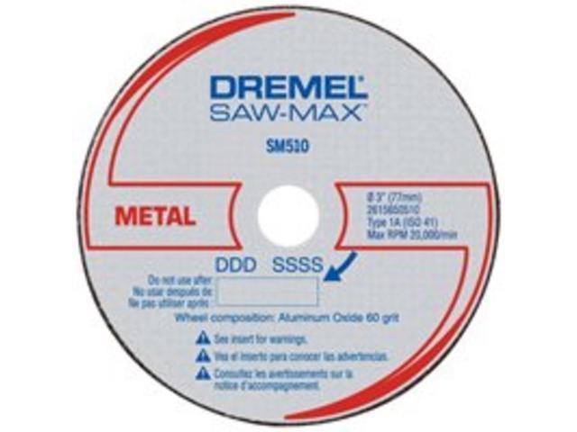 SM510 3 in. Metal Cut-Off Wheels (3-Pack)