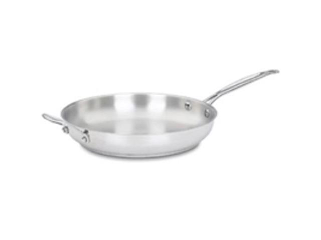 Cuisinart 722-30H 12-Inch Stainless Steel Open Skillet