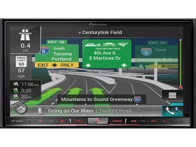 pioneer in dash stereo. pioneer avic-8200nex navigation receiver in dash stereo
