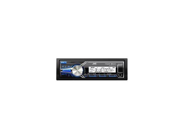 JVC Marine/Motorsports Digital Media Receiver - Bluetooth®/AM/FM/MP3/WMA/WAV/FLAC - Does NOT Play CD