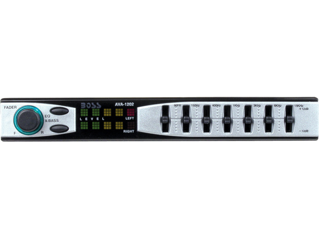 Boss Ava1202 7 Band Preamp Equalizer Eq Ava-1202