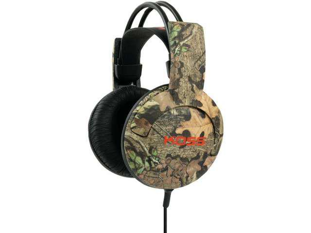 KOSS 182064 Full-Size, Over-The-Head Mossy Oak Headphones