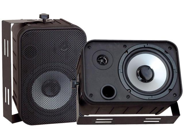 Pyle PDWR50B Pyle 6 5 black 500-watt indoor/outdoor waterproof speakers