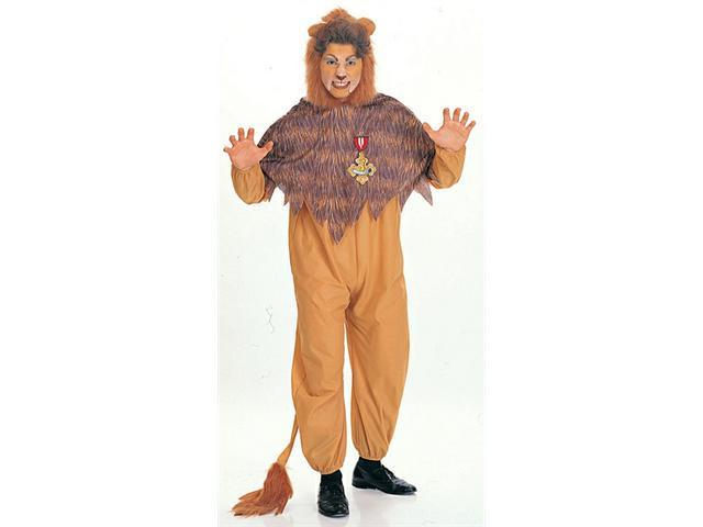 Cowardly Lion Costume for Adult