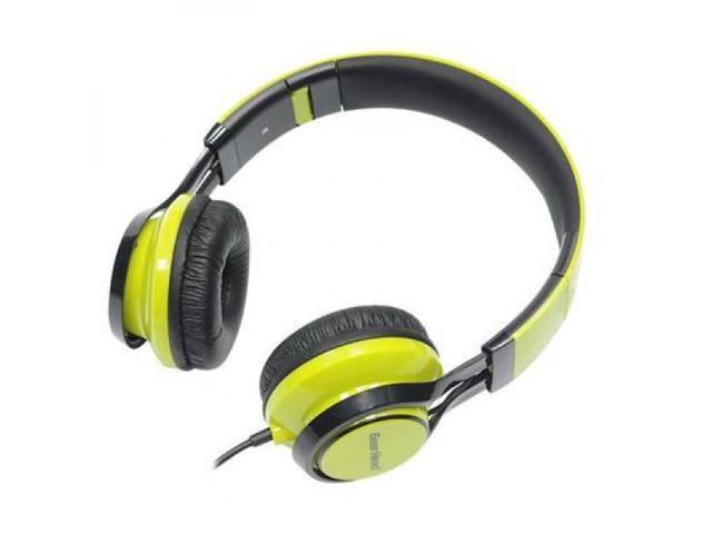 Gear Head Green HS3500GRN Noise Isolating Headphones