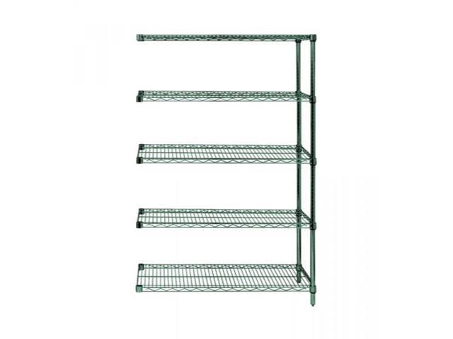 Quantum Wire Shelving 5 Shelf Add-On Units Storage Rack Proform 24
