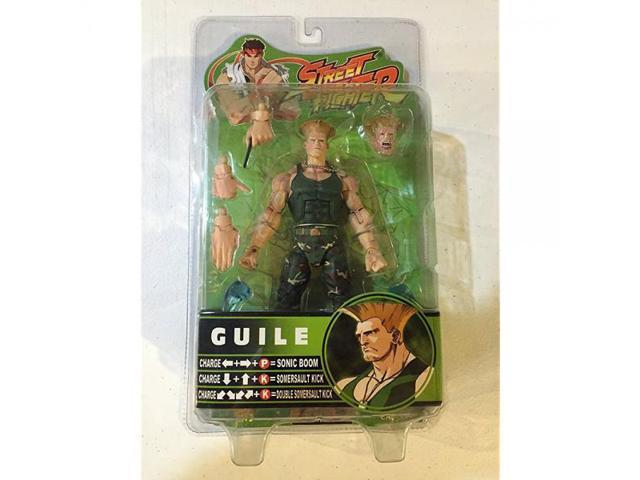 Street Fighter Series 3 Guile - Green