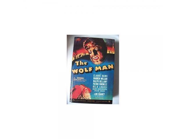 12 Sideshow Lon Chaney as Wolf Man Figure Wolfman 2001