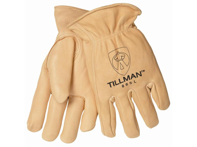 Tillman 865 Top Grain Deerskin Thinsulate Lined Winter Gloves, Large