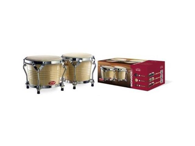 Stagg BW200N Bongos in Natural Finish