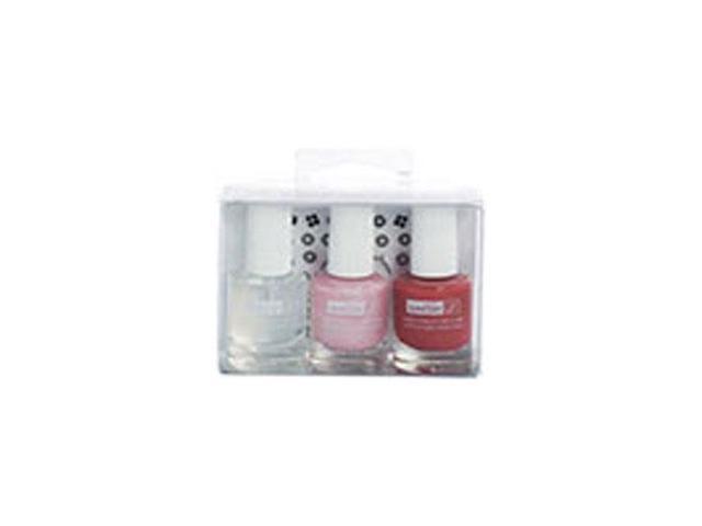 Natural Nail Beauty Kit Water-Based Nail Polish Ballerina Beauty, 3 ...