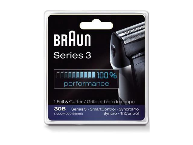 BRAUN 10069055854003 Series 3 Combi 30b Foil And Cutter Replacement Pack
