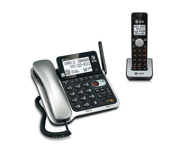AT&T CL84102 Corded/Cordless Phone System