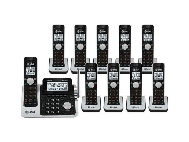 AT&T CL83201 + (8) CL80111 DECT 6.0 Phone w/ Digital Answering System and 1 Additional Handset