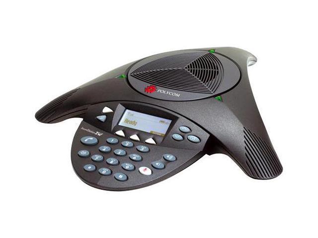 Polycom 2200-07800-160 Wireless Conference Phone SoundStation2W Expandable DECT 6.0
