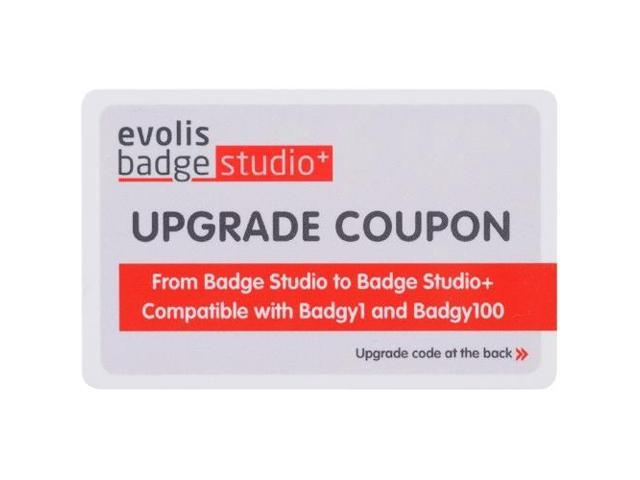 Badgy BS1UPG011 Badgy Badge Studio - 1 License - Mac, PC