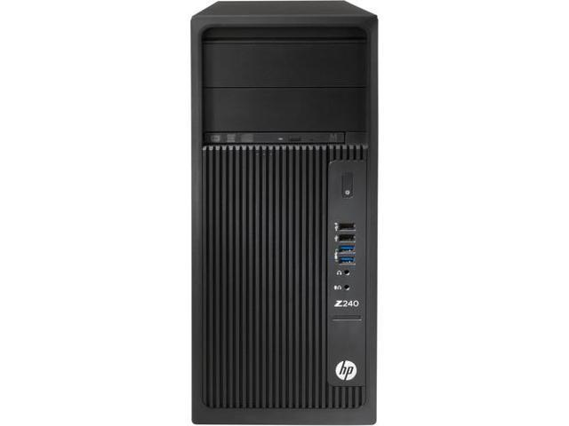 HP L9K59UT#ABA Smart Buy Z240 Wkstn Twr E3-1240V5 3.5G 8Gb 1Tb Dvdrw W7P