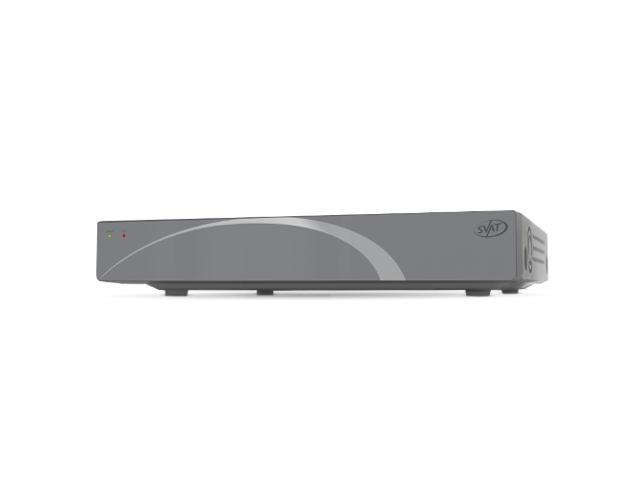 SVAT 4CH Smart Security DVR with 500GB HDD and Smartphone Compatibility - 11011