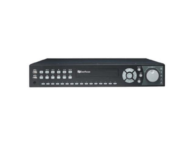 EVERFOCUS ENDEAVORX4/4 DVR: 16 CH., 4 TB, DVD, 480 FPS @ D1
