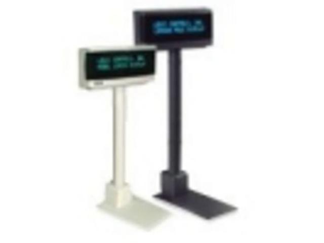 LOGIC CONTROLS LD9900U-GY 2X20,DK GREY,USB,9.5MM,OPOS, SINGLE-SIDE DPLAY,