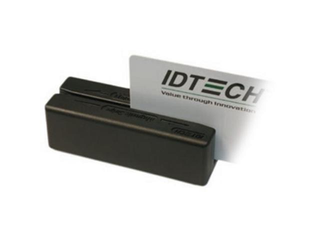 ID TECH IDMB-354133B MINIMAG DUO, USB (KYBD EMUL.) MSR, TRACKS 1,2,3, BLACK